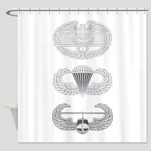 CFMB Airborne Air Assault Shower Curtain