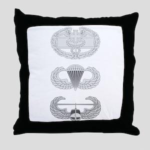 CFMB Airborne Air Assault Throw Pillow
