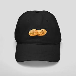 Peanut Black Cap with Patch