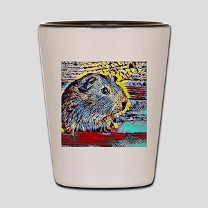 Color Kick -guinea pig Shot Glass