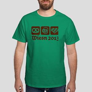 Oktoberfest Wiesn 2013 Dark T-Shirt