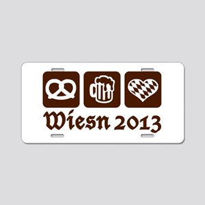 Oktoberfest Wiesn 2013 Aluminum License Plate