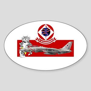 VF-102 DIAMONDBACKS Oval Sticker