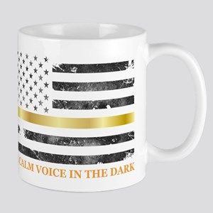 Thin Yellow Line - Thin Gold Line Mugs