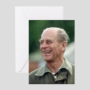 HRH Prince Philip Greeting Card