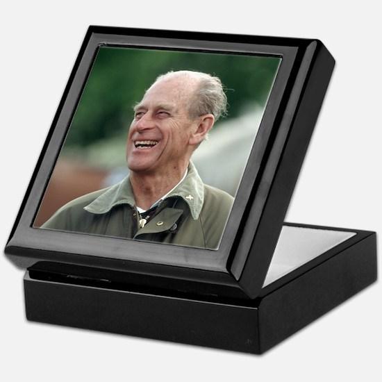 HRH Prince Philip Keepsake Box