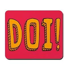 DOI! Mousepad
