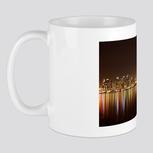 San Diego Skyline Night Mug