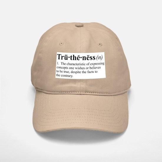 Truthiness Baseball Baseball Cap