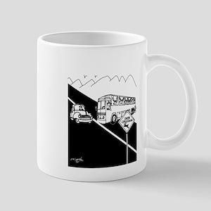 Bus Cartoon 3251 11 oz Ceramic Mug