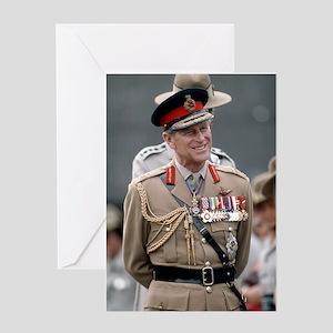 HRH Prince Philip Hong Kong Greeting Cards