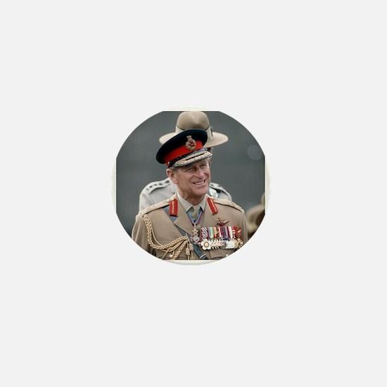 HRH Prince Philip Hong Kong Mini Button