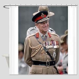 HRH Prince Philip Hong Kong Shower Curtain