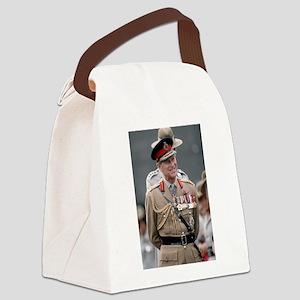 HRH Prince Philip Hong Kong Canvas Lunch Bag