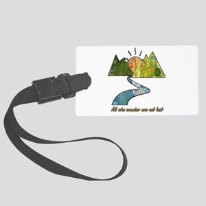Wander Large Luggage Tag