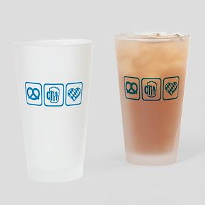 Wiesn Oktoberfest Germany Drinking Glass