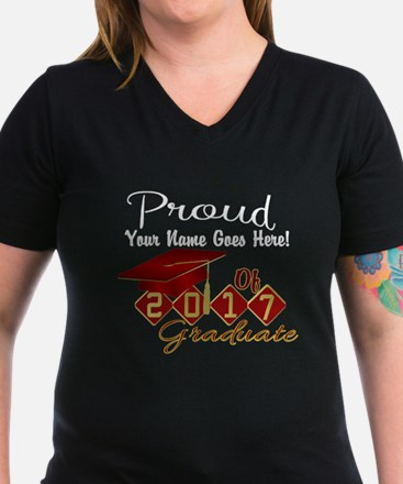 Proud 2017 Graduate Red T-Shirt