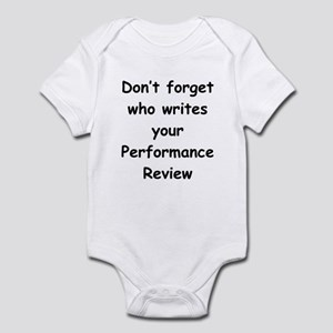 Performance Review Infant Bodysuit
