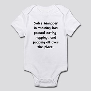Sales Manager in Training Infant Bodysuit