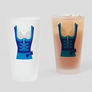Dirndl Oktoberfest Dress Drinking Glass