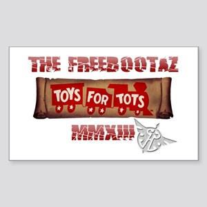 Toys for Tots 2013 Sticker