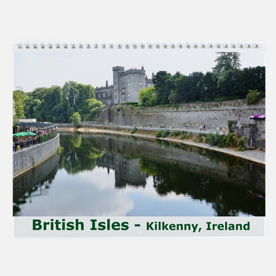 British Isles Wall Calendar