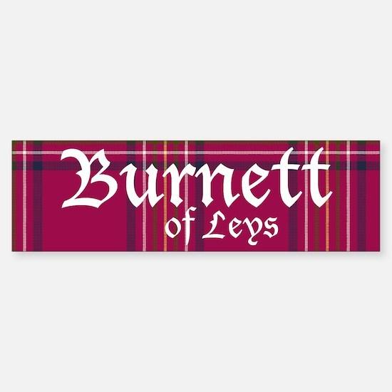 Tartan - Burnett of Leys Sticker (Bumper)