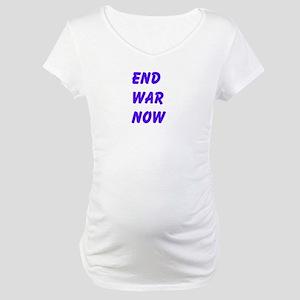 End War Now Maternity T-Shirt