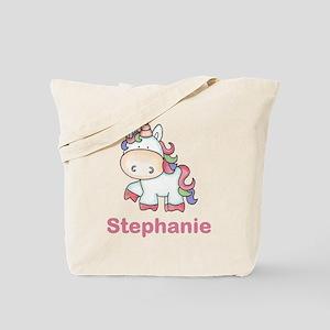 Stephanie's Sweet Unicorn Tote Bag