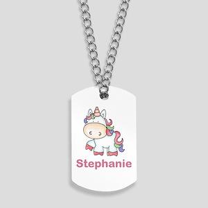 Stephanie's Sweet Unicorn Dog Tags