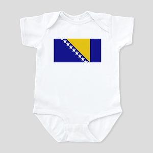 Flag of B&H Infant Bodysuit