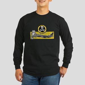 VF-84 Jolly Rogers Long Sleeve Dark T-Shirt