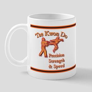 Tae Kwon Do Precision Strength Speed Mug