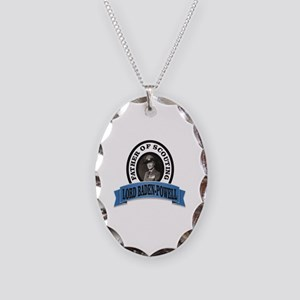 Father of scouts bp Necklace Oval Charm