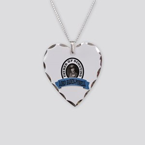 Father of scouts bp Necklace Heart Charm