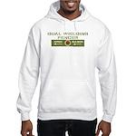 Epee & Saber Fencer Hooded Sweatshirt