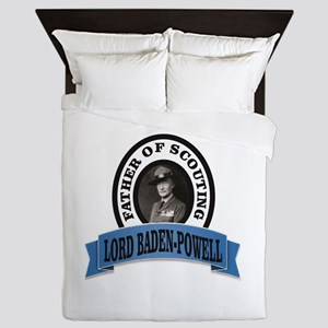 Father of scouts bp Queen Duvet