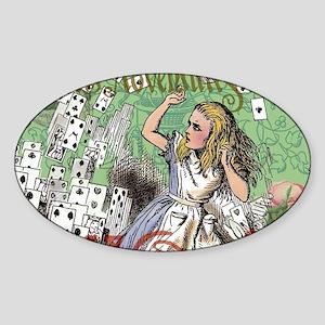 Alice in Wonderland Adventure Vintage Flyi Sticker