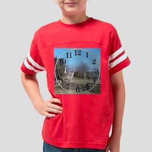 Country Clock 2 Youth Football Shirt