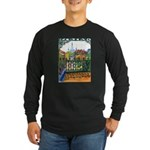 New Orleans Themed Long Sleeve Dark T-Shirt