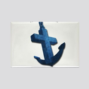 Anchored In Him Magnets
