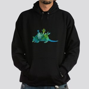 Armadillo and cacti Sweatshirt