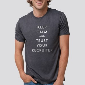 Keep Calm and Trust Your Re Mens Tri-blend T-Shirt