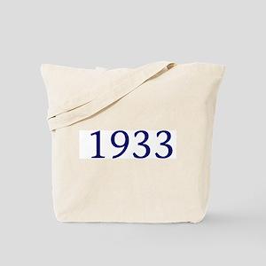 1933 Tote Bag
