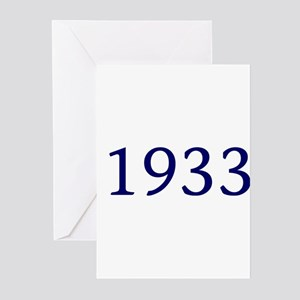 1933 Greeting Cards (Pk of 10)