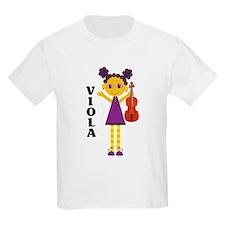 Cute Viola Kids Light T-Shirt