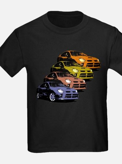 Colorized Neon SRT-4's T-Shirt