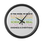 #kindnessiseverything Large Wall Clock