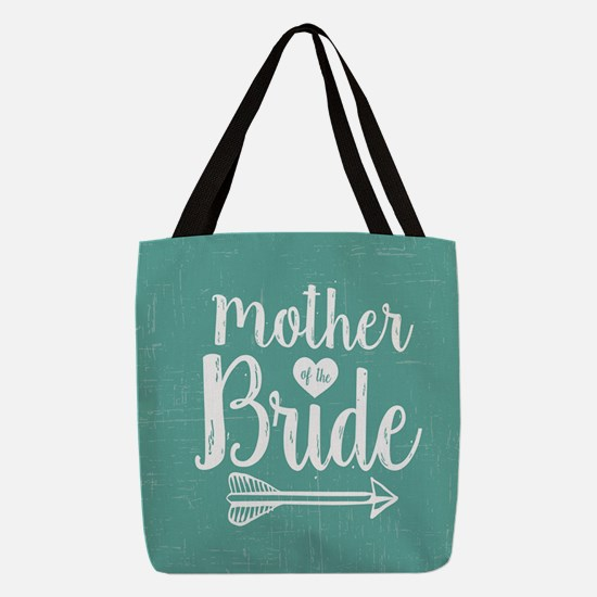 Mother Bride Polyester Tote Bag