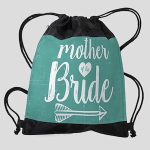Mother Bride Drawstring Bag